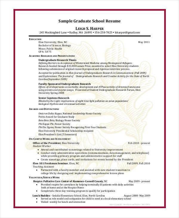 Academic Vitae Template. academic resume template format free ...