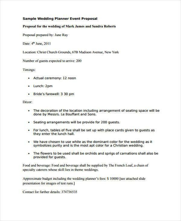 39 Event Proposals in PDF