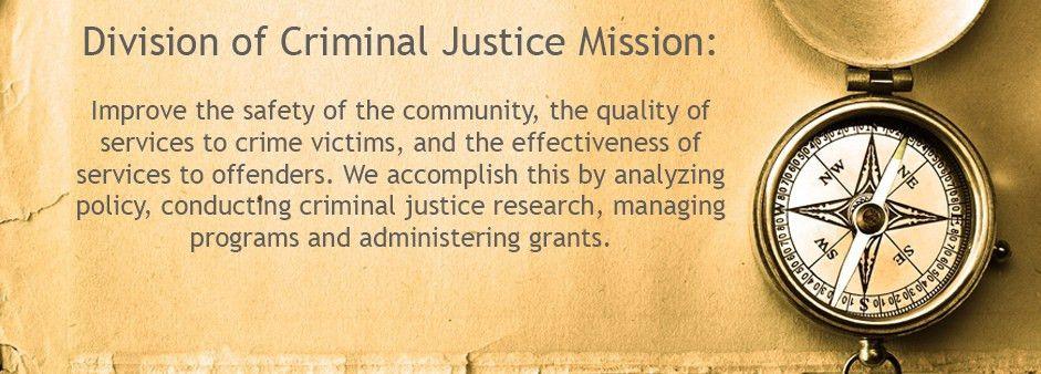 Division of Criminal Justice |