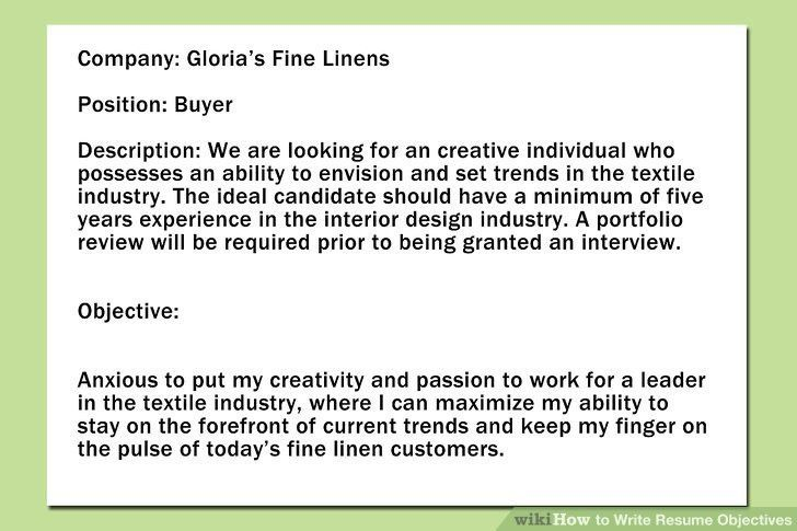 Appealing What To Put For Objective On A Resume 28 In Good Resume ...