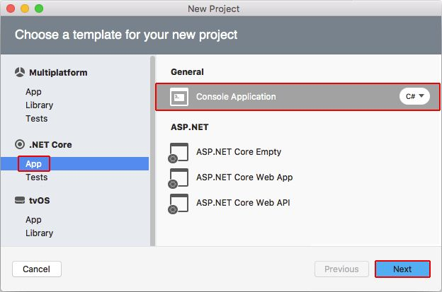 Getting started with .NET Core on macOS using Visual Studio for ...