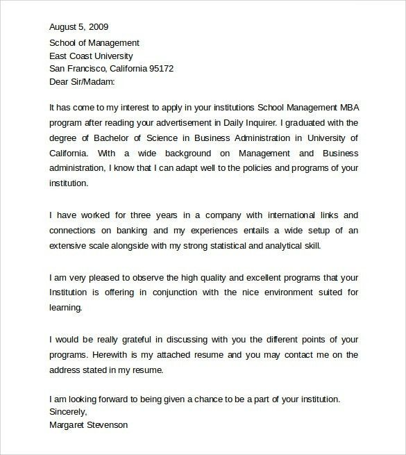 Sample Professional Cover Letter Example - 9+ Free Documents in ...