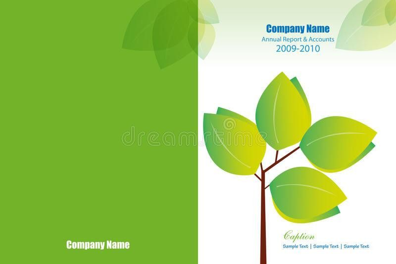 Annual Report Cover Layout Stock Photo - Image: 19262480