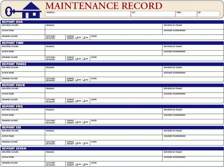 Rent Record Template Rental Vehicle Log Book Template For Excel – Rental Inventory Template