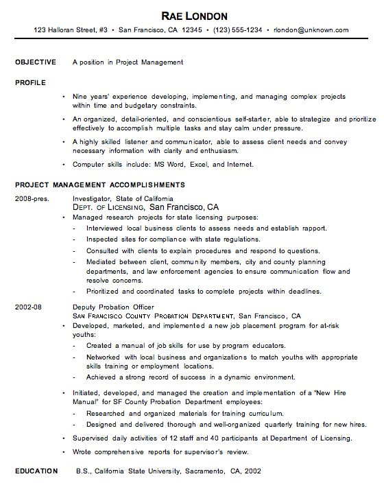 account manager cv example. resume examples example resume ...