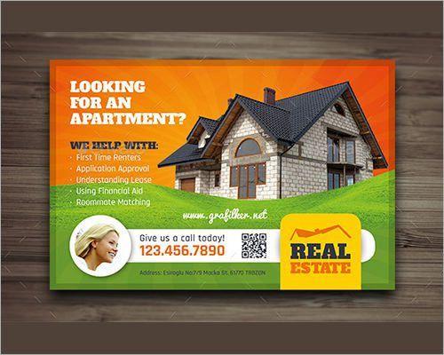 Sample Real Estate Marketing Postcard Templates