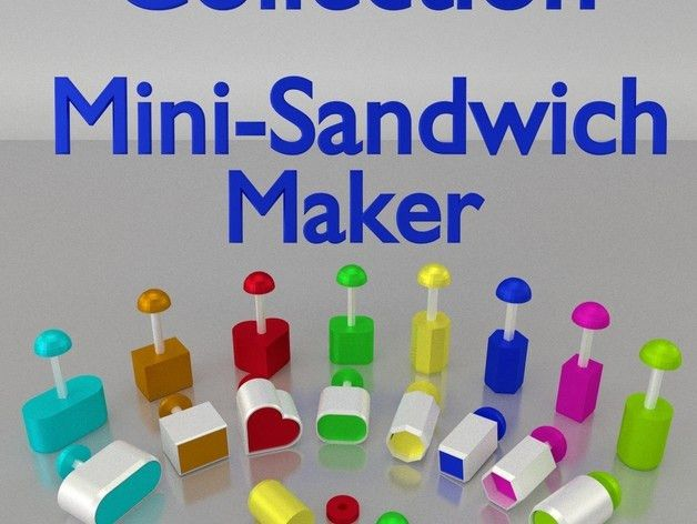 Here's How to 3D Print Your Own Sandwich Maker