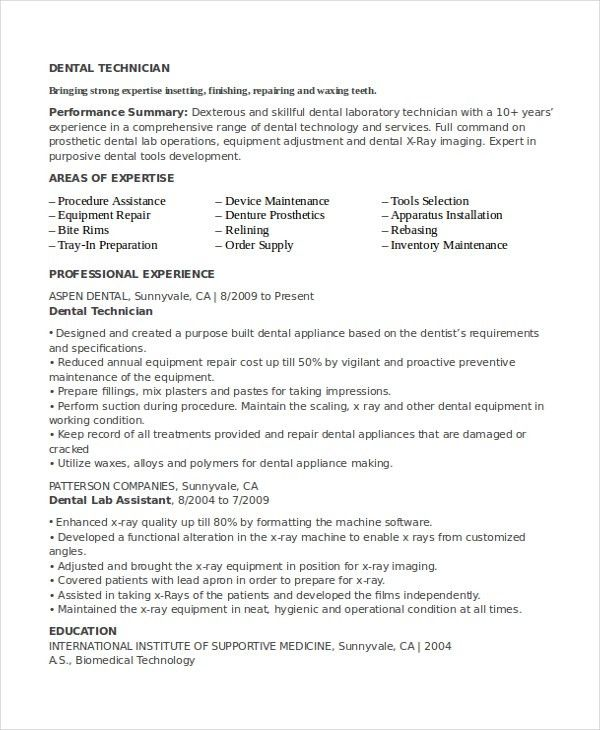 Sensational Lab Tech Resume 5 Lab Technician Resume Template ...