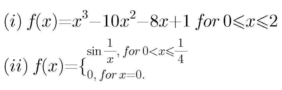 Mean Value Theorem[Example]