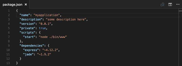 JSON editing in Visual Studio Code