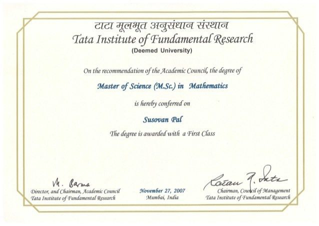 degree certificate from TIFR.PDF