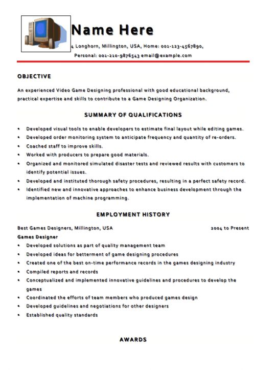 Resume Template Archives - RESUMEDOC