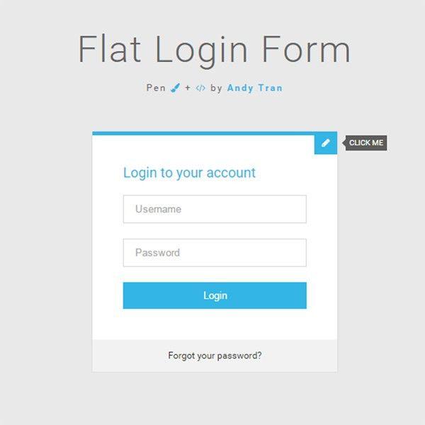 35 Powerful Free CSS3 HTML5 Login Form Templates - DoveThemes