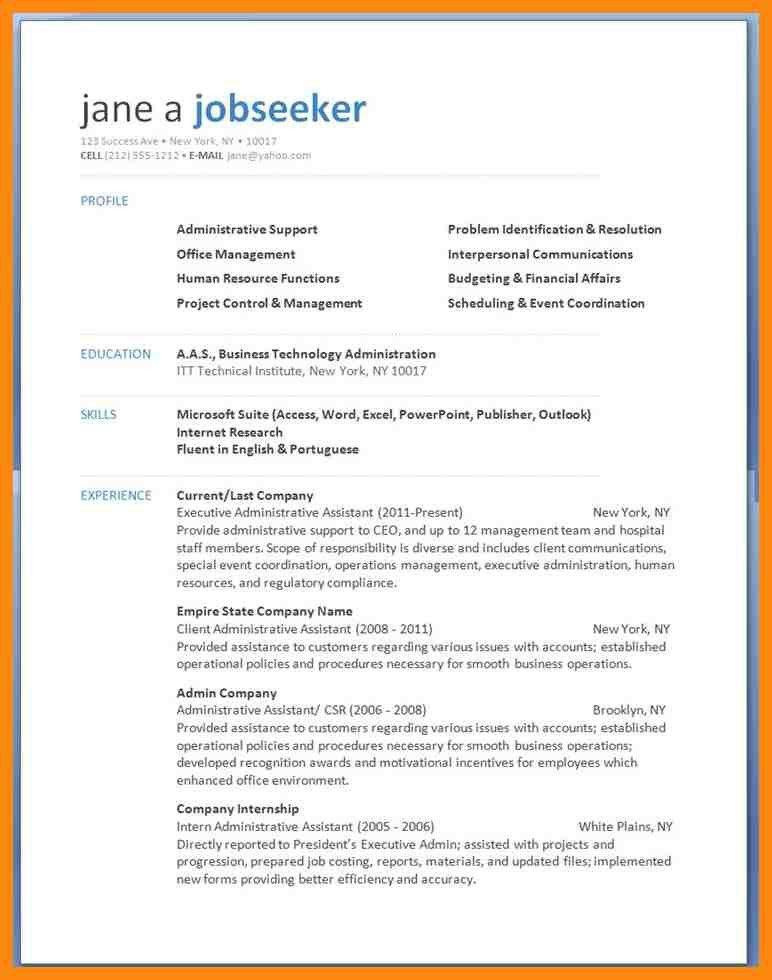 Resume Sample In Word. Resume Best Resume Example Word Word Resume ...