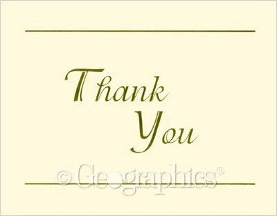 Note Cards & Thank You Cards | Geographics