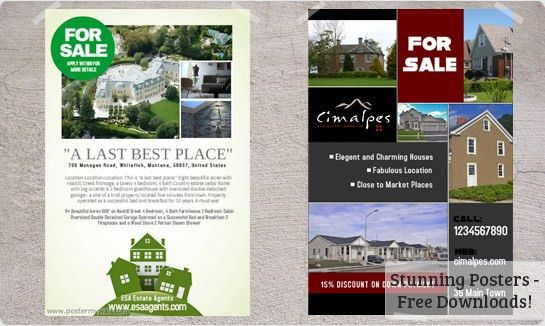 REAL ESTATE FLYER - adsblogfinance