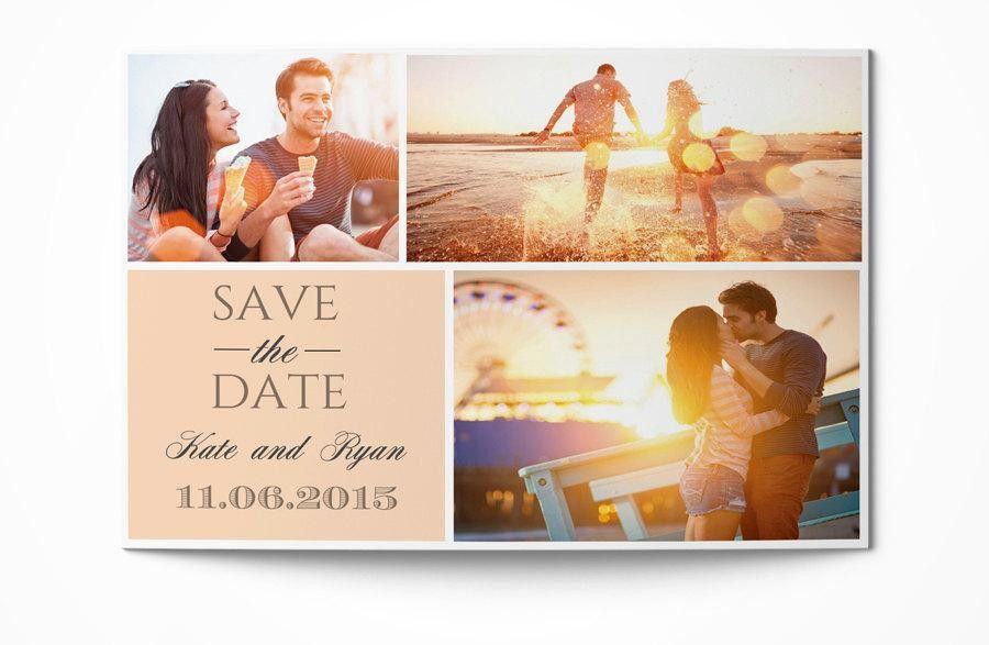 Photographer Save The Date Template Photography Save The Date ...