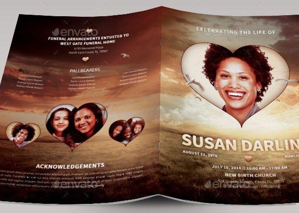 15 Great Funeral Brochure Templates – Desiznworld