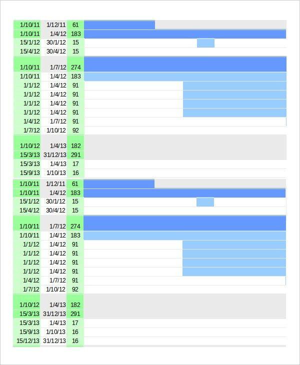 Gantt Chart - 10+ Free Word, Excel, PDF Documents Download | Free ...
