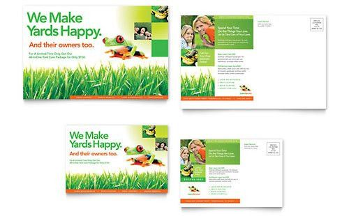 Lawn Maintenance Flyer & Ad Template - Word & Publisher