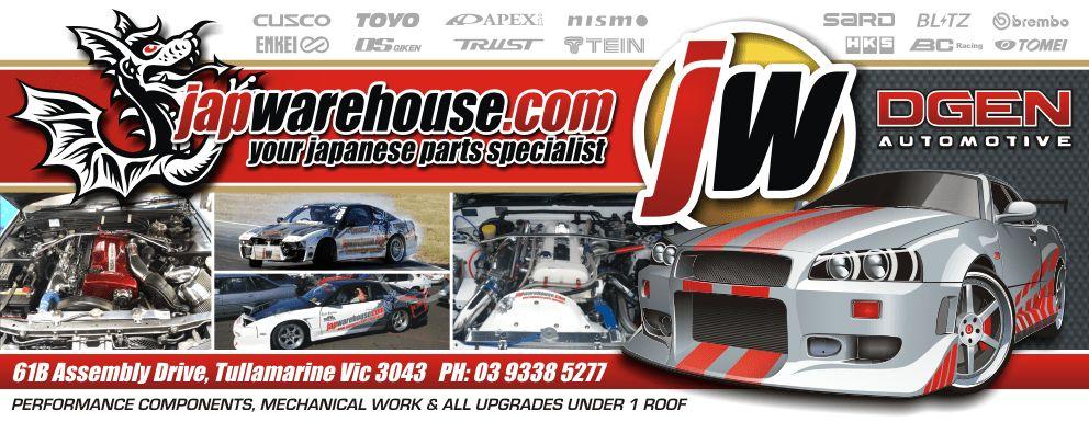 Warehouse. Your Japanese parts specialist. APEXI, BLITZ, HKS ...
