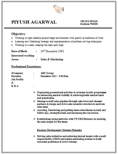 Excellent Student Resume Format 14 Examples For Students Samples ...
