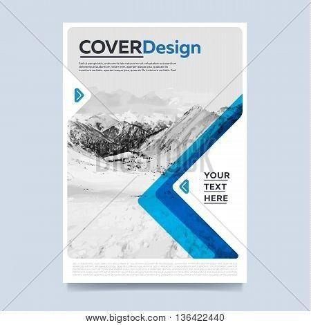 Cover Design Concept. Annual Vector & Photo | Bigstock