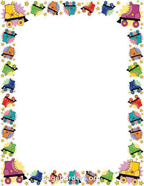 253 best Stationery/borders for children images on Pinterest ...