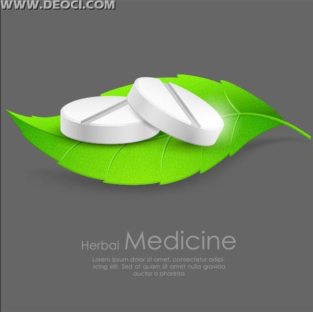 Free green pills creative advertising poster design templates to ...