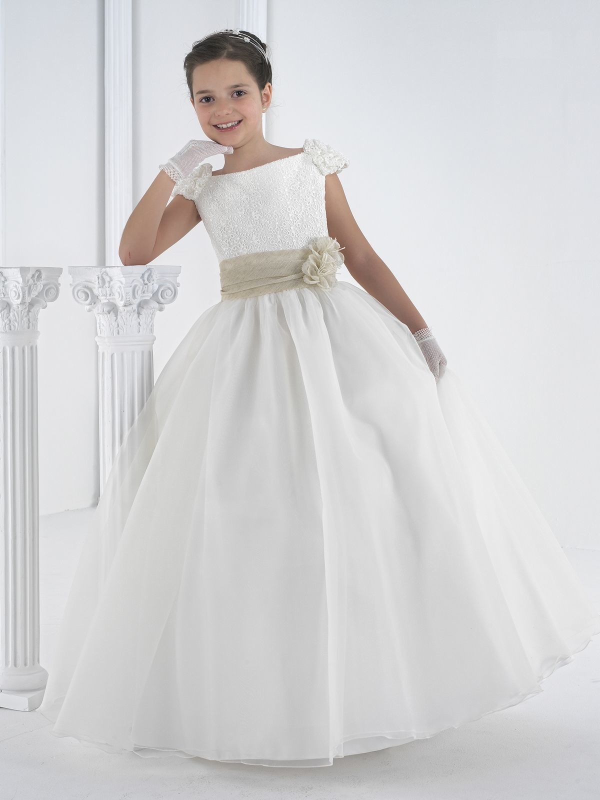 Pinterest rosa clara communion dresses and first communion dresses