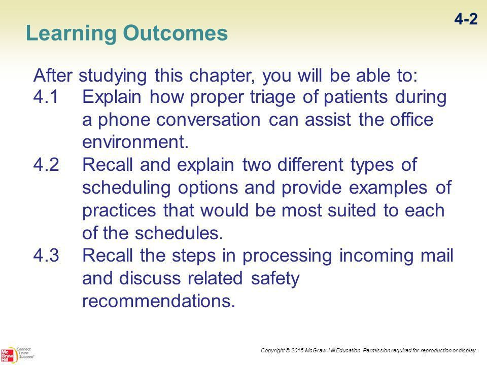 Office Communications: Phone, Scheduling, and Mail - ppt video ...