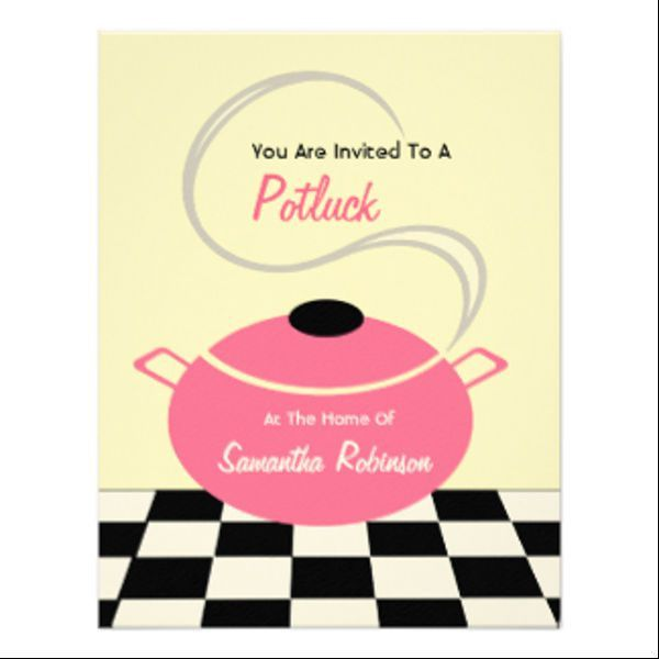 6+ Potluck Email Invitation Template - Design, Templates | Free ...