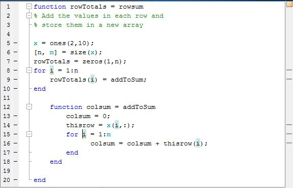 Check Variable Scope in Editor - MATLAB & Simulink