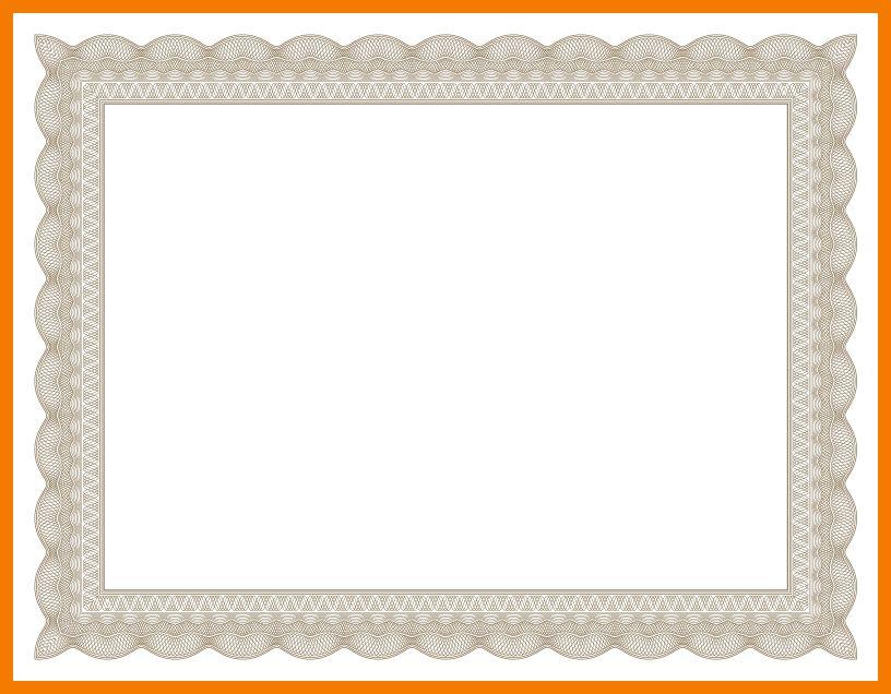 5+ frame certificate borders | resume holder
