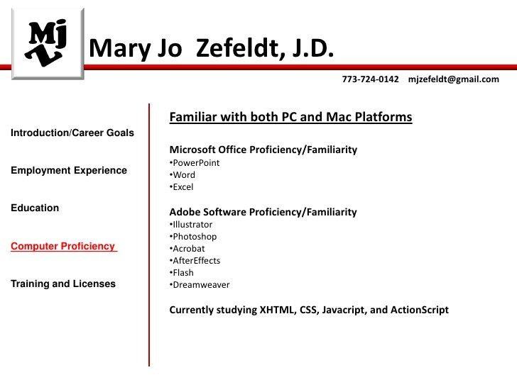 Zefeldt Interactive Resume Slidesharestatic