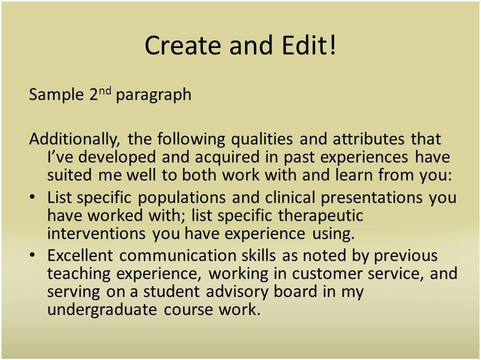 How to Hit the Mark in Just Three Paragraphs - ppt download