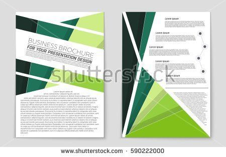Abstract Vector Layout Background Set Art Stock Vector 595439063 ...