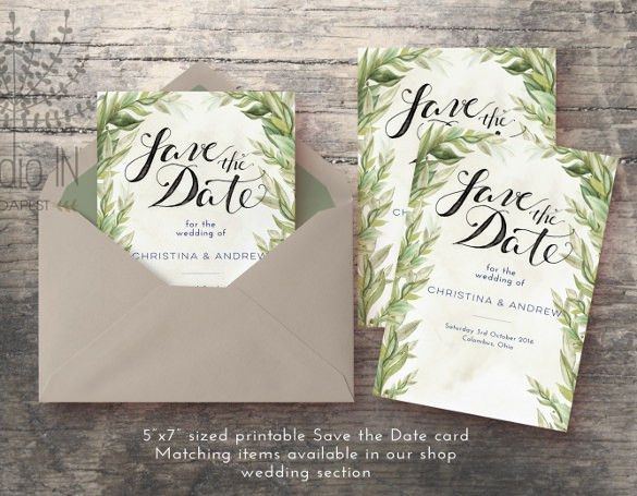 43+ Wedding Card Templates – Free Printable, Sample, Example ...