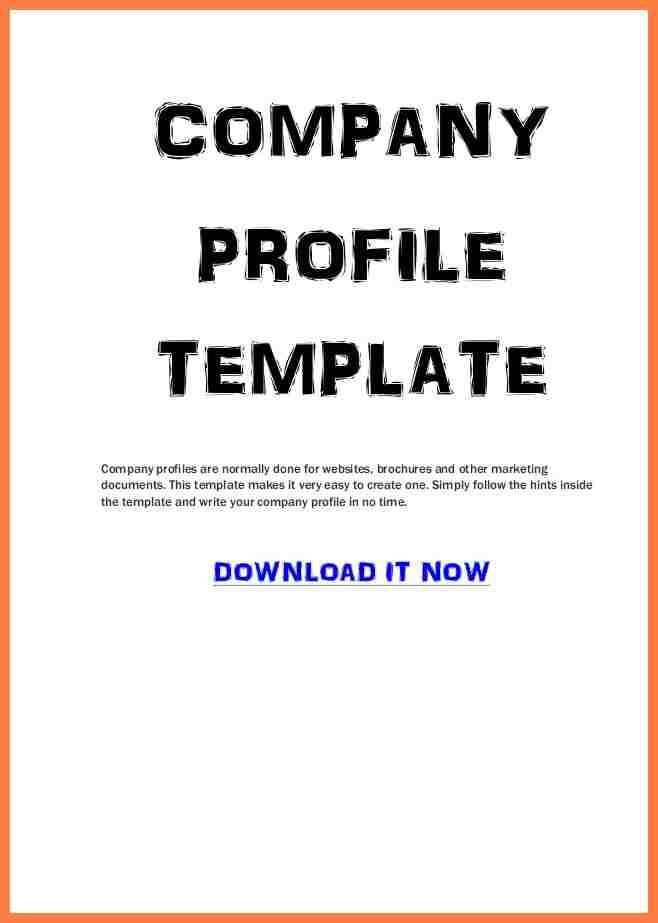 5+ sample of a company profile pdf | Company Letterhead