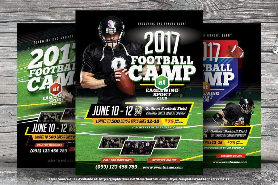 Sports Camp Flyers that Can Boost your Registration