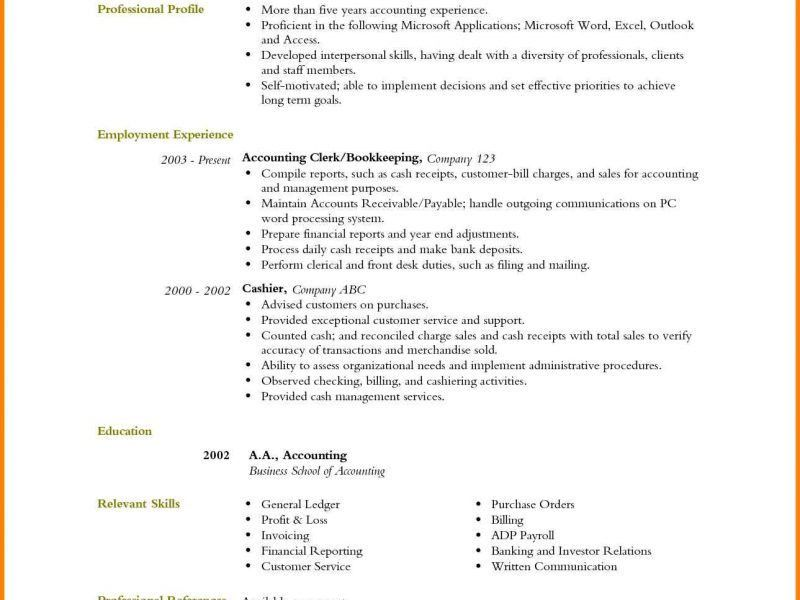 Microsoft Word Resume Template017 kicksneakers