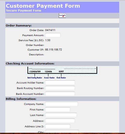 ACH Merchant Console | VeriCheck® Payment Processing