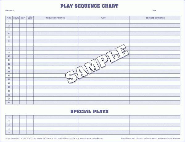 Glover's Football Scorebooks