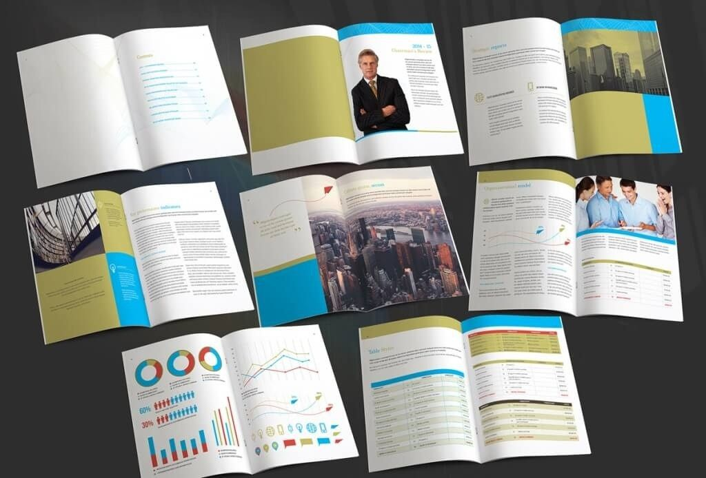 Annual Report Template | ebook