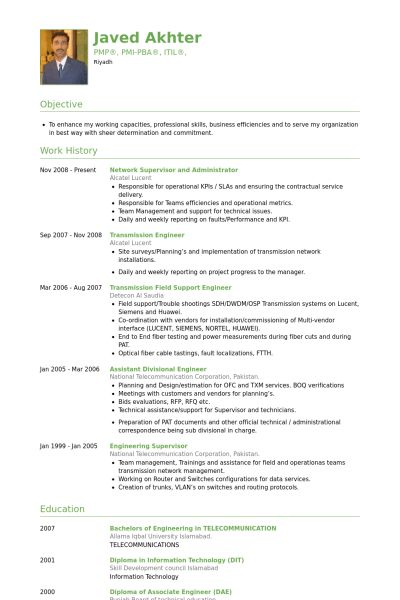 Administrator Resume samples - VisualCV resume samples database