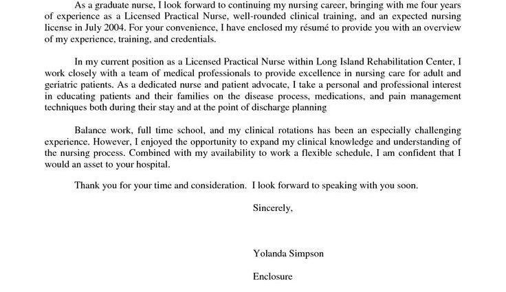 Nursing Cover Letters. Experienced Nursing Cover Letter Sample 8+ ...