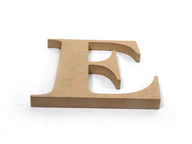 Outdoor Wood Letters - Craft Cuts