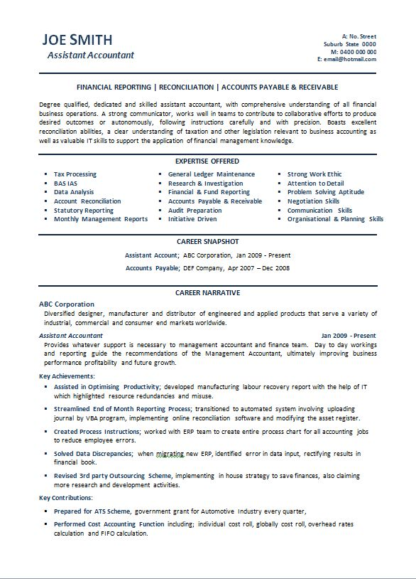 accounting sample resumes australia power resume writing. student ...
