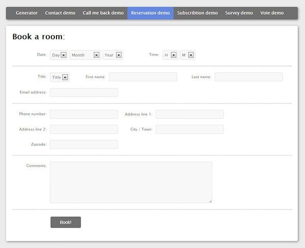 35+ Best PHP Contact Form Templates | Free & Premium Templates