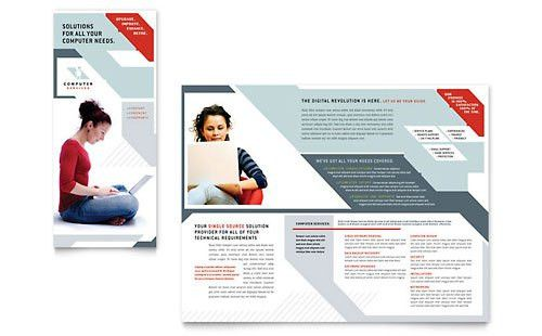 IT & Computer Consulting | Brochure Templates | Technology